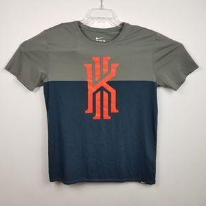 Nike Mens Kyrie Irving T Shirt Sz L Large Blue